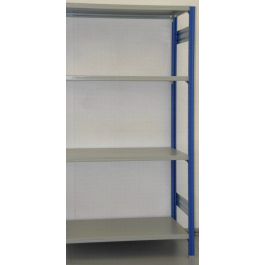MODULO AGGIUNTIVO scaffalatura in metallo da magazzino Verniciata cm. 100x50x242h