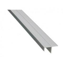 Laterale argento cm. 273 per finitura pannello dogato