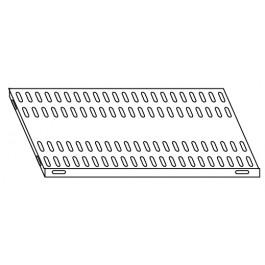 Piano aggiuntivo per scaffalatura in acciaio inox