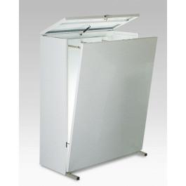 Portadisegni in metallo a sospensione verticale cm. 115x50x140h