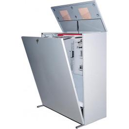 Cassettiera portadisegni a sospensione verticale con antiribaltamento cm. 115x50x140h