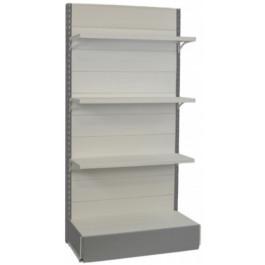 Scaffale metallico da negozio cm. 97x40x200h