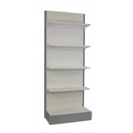 Scaffale in metallo per arredamento negozi di ogni genere cm. 97x40x250h