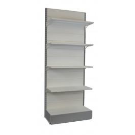 Scaffalatura metallica per arredamenti completi negozi cm. 97x40x250h