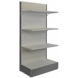 Scaffalatura in metallo per negozi cm. 97x50x200h