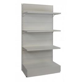 Scaffalatura metallica per negozio a parete cm. 97x50x200h