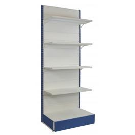 Scaffalatura in metallo per allestire negozi di ogni tipo cm. 97x50x250h