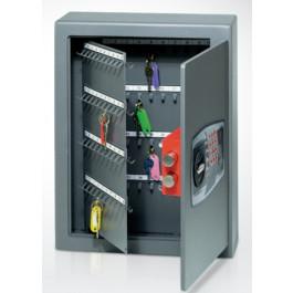 Mobile cassaforte metallica porta chiavi con combinazione elettronica digitale cm. 36x14x47h