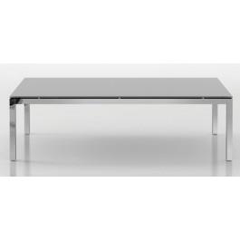 Tavolo direzionale con gambe in metallo per sala riunioni cm. 240x120x75h