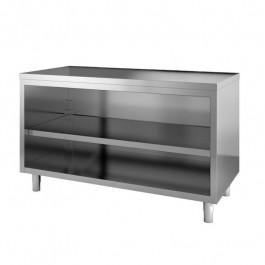 Tavolo inox a giorno senza alzatina tavolo in acciaio inox aisi 304