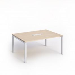 Tavolo riunioni per ufficio con gambe in metallo