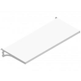 Piano con mensole AGGIUNTIVO cm. 97x40 da negozio