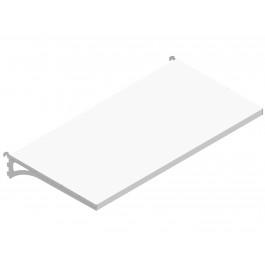 Piano aggiuntivo per scaffale componibile in metallo per negozi