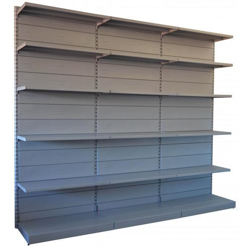 Scaffale A Muro Metallo.Scaffalatura In Metallo Da Negozio Castellani Shop