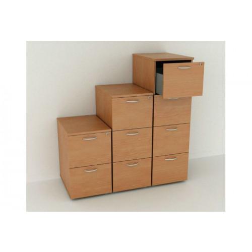 Cassettiera per ufficio wanli cassetti in plastica for Cassettiera ufficio economica