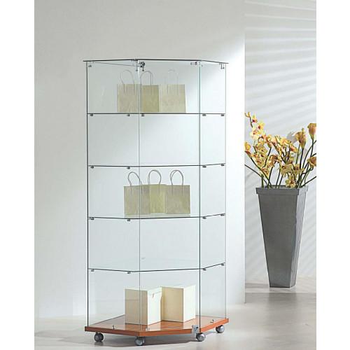 Vetrina angolare cm. 68x68x180h - Castellani Shop