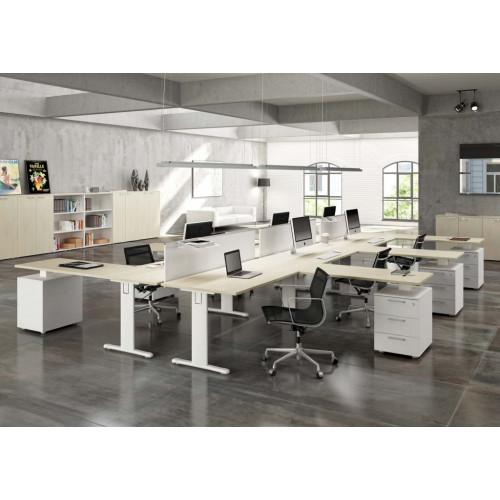 Composizione da ufficio operativo castellani shop for Arredamento completo ufficio