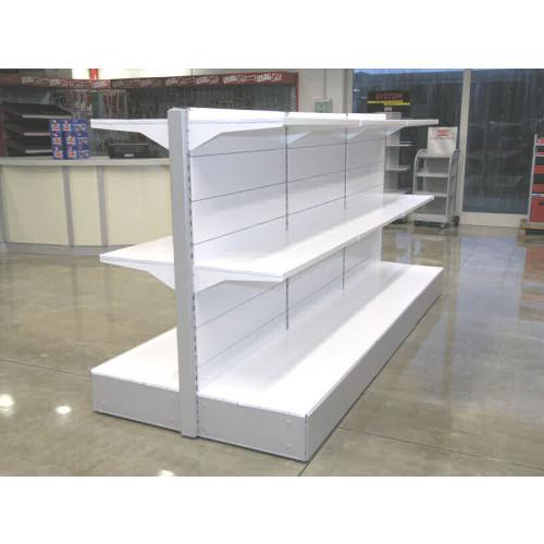 Scaffalatura da negozio in metallo centro stanza cm for Scaffali arredo