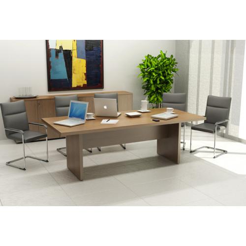 Tavolo riunione direzionale fianchi metallo - Castellani Shop