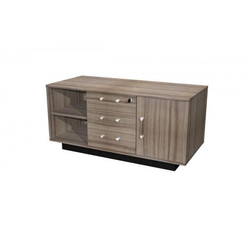 Mobile di servizio eco cm 120x55x56 6h castellani shop for Mobile basso ufficio