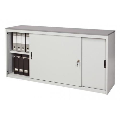 Sopralzo per armadio con top in nobilitato castellani shop for Mobile basso ufficio