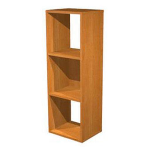 Libreria a giorno a 3 caselle 35,9x29,2x103,9 - Castellani Shop