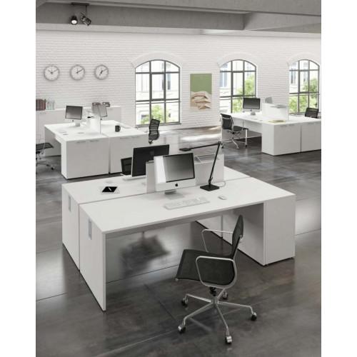 Arredo ufficio operativo componibile in legno di vario for Arredamento x ufficio