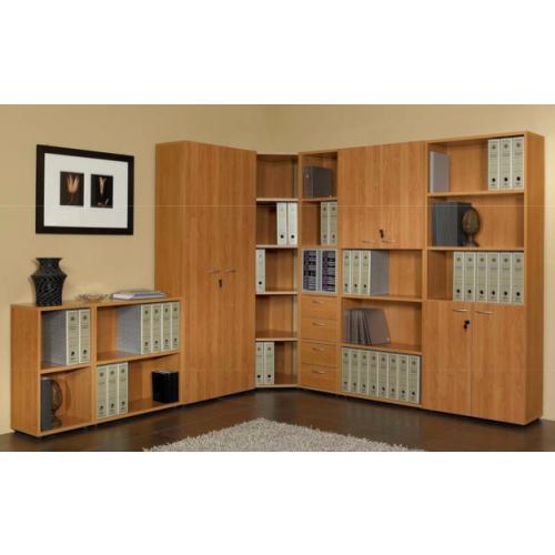 Libreria bassa a giorno eco 76x32x81,5h - Castellani Shop