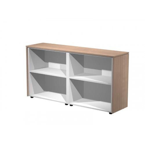Due mobili bassi a giorno eco 162 8x43x81 4 castellani shop for Mobili giorno