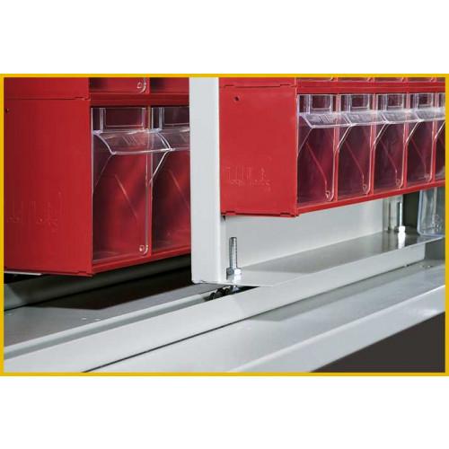 Armadio porta minuteria per cassettiera castellani shop - Pannelli scorrevoli per cabine armadio ...