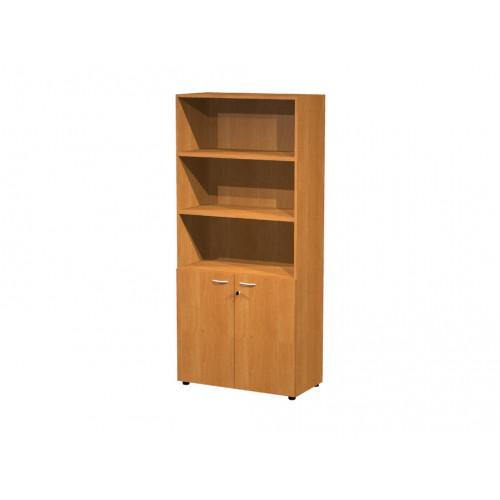 Libreria armadio alto eco cm 90x45 8x200h castellani shop for Libreria ufficio
