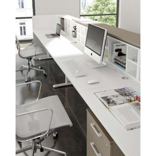 Mobile box sottomensola per reception ufficio castellani for Reception da ufficio