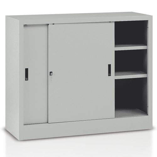 Armadietto a porte scorrevoli per archivio castellani shop for Armadio basso ufficio