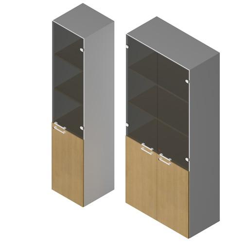Mobile alto per ufficio direzionale castellani shop for Mobile ufficio con serratura