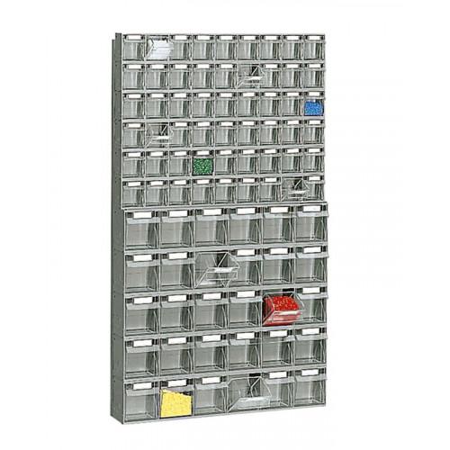 Cassettiere In Plastica Per Minuterie.Scaffale A Cassetti In Plastica Cm 60x11 3x102 2h