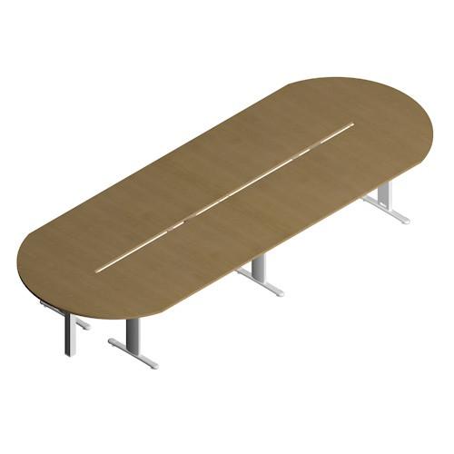 Tavolo rettangolare per ufficio - Castellani Shop