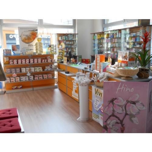 Gondola monofacciale con pannelli dogati castellani shop for Pannelli arredo negozi