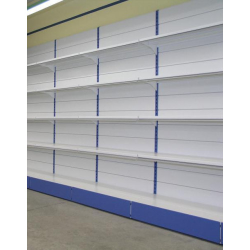 Modulo aggiuntivo per scaffalatura a piani con mensole di for Piani di costruzione del negozio