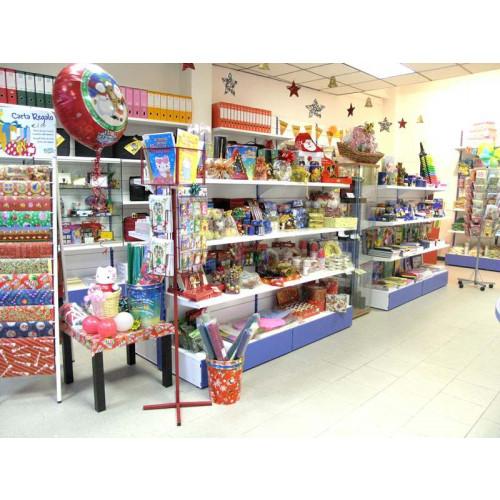 Scaffale centro stanza per arredo negozi di metallo for Scaffali arredo