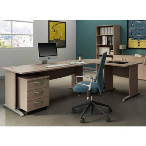 Arredo ufficio economico scrivania economica castellani shop for Scrivania arredo