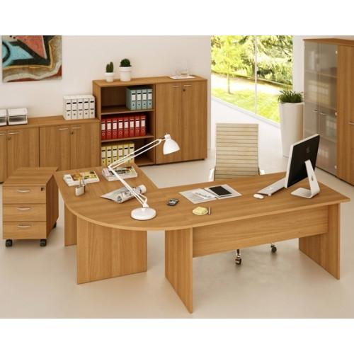 Scrivania per arredo ufficio economico castellani shop for Arredamento ufficio economico
