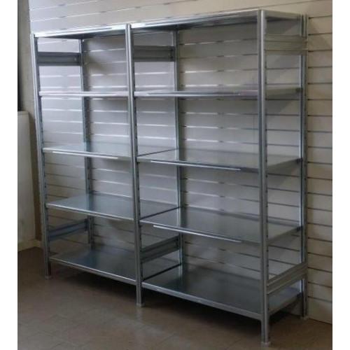 Modulo aggiuntivo per scaffalatura in metallo da magazzino for Ikea scaffali in metallo