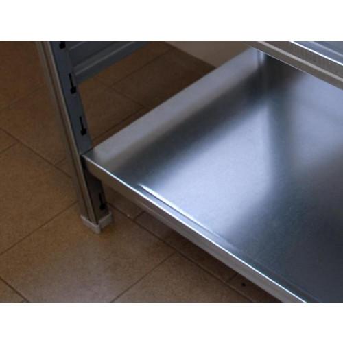 Scaffale in metallo scaffalatura industriale castellani shop for Piano del magazzino