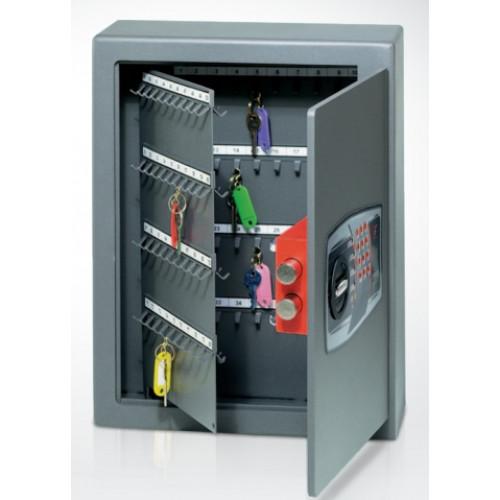 Mobile cassaforte metallica porta chiavi con combinazione elettronica digitale cm 36x14x47h - Fissare cassaforte a mobile ...