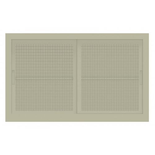 Sopralzo per Armadio Archiviazione ad Ante Scorrevoli in rete cm. 120x45x74H