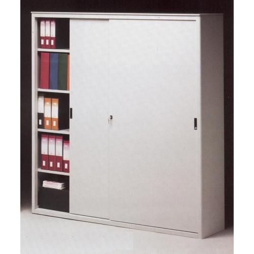 Armadio ad ante scorrevoli cm 180x45x200h castellani shop for Armadi per ufficio