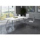 Tavolo per sala riunioni in melaminico cm. 200x110x72h