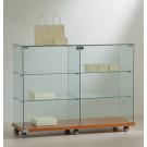 Vetrina espositiva per negozi cm. 117x40x90h