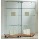 Vetrina da esposizione cm. 117x40x140h