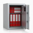 Armadio atermico ignifugo per protezione documenti CERTIFICATO 30 minuti EN 14450 S1 dimensioni cm. 49x45,5x47h